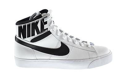 6d40f28e53ea Nike Match Supreme Hi LTR Men s Basketball Shoes White Black-White  631683-101