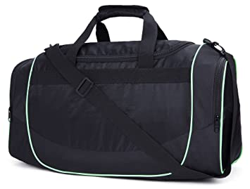 Image Unavailable. Image not available for. Colour  MIER Men s Gym Bag with Shoe  Compartment Sports Duffel Holdall ... ca0cf8ef1e