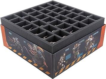 Feldherr Espuma Compatible con Zombicide: Invader - Caja de Juego de Mesa: Amazon.es: Juguetes y juegos