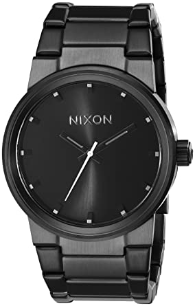 watch mens gold watches gunmetal n new nixon link ne w nib chrono