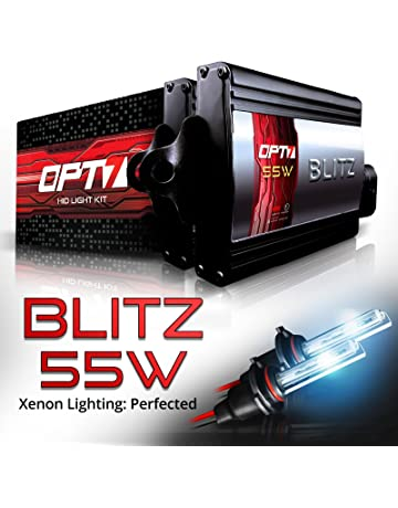 OPT7 Blitz 55W 9005 HID Kit - 5X Brighter - 4X Longer Life - All Bulb