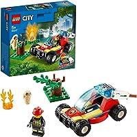 LEGO City 60247 Forest Fire Building Kit (84 Pieces)