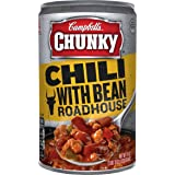 Campbell's Chunky Chili, with Bean Roadhouse, 19 Ounce (Pack of 12)
