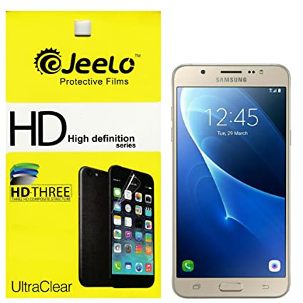Jeelo HD Clear Screen Guard for Samsung Galaxy J7   6  New 2016 Edition  Screen guards