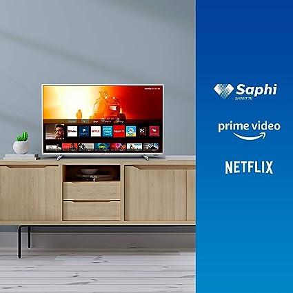 Televisor 4K UHD Philips 70PUS7555/12 de 178 cm (70 pulgadas) (4K UHD, P5 Perfect Picture Engine, Dolby Vision, Dolby Atmos, HDR 10+, Saphi Smart TV, HDMI, USB), Color plata (modelo de 2020/2021): Amazon.es: Electrónica