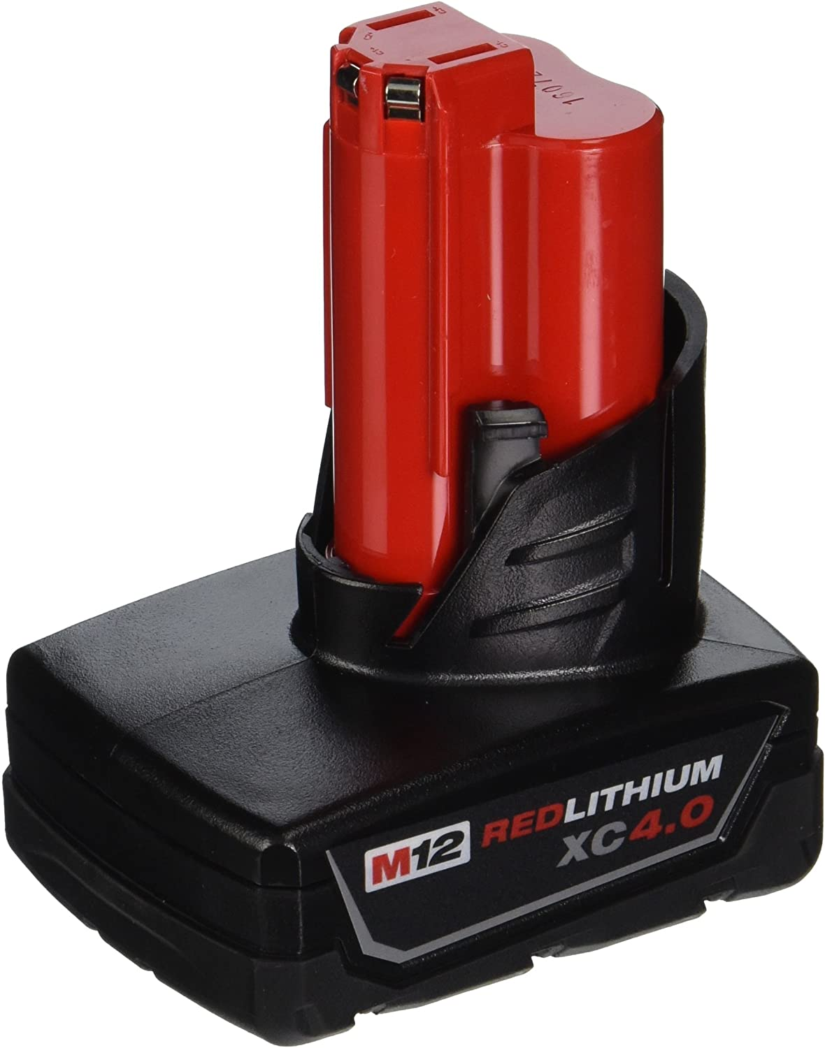 MILWAUKEE'S 48-11-2440 M12 REDLITHIUM XC 4.0 Extended Capacity Battery Pack