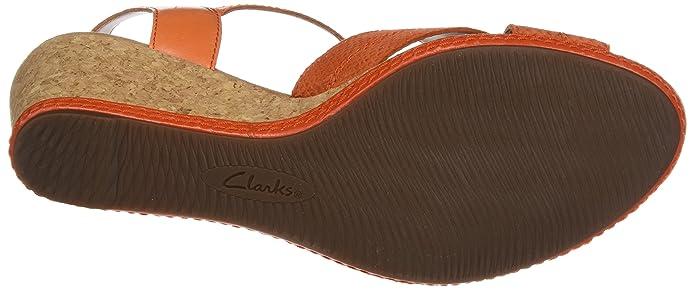 ce1e3405ee376 Clarks Women s s Helio Latitude Wedge Heels Sandals  Amazon.co.uk  Shoes    Bags