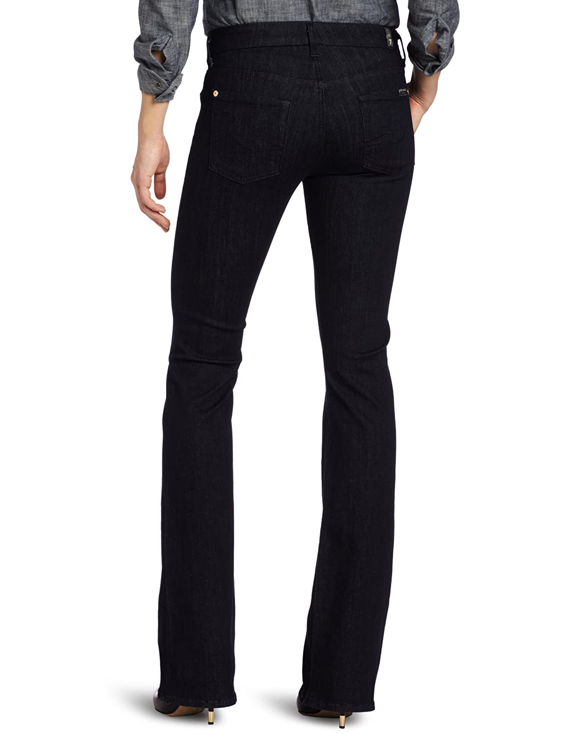 7 For All Mankind Womens Bootcut Jean