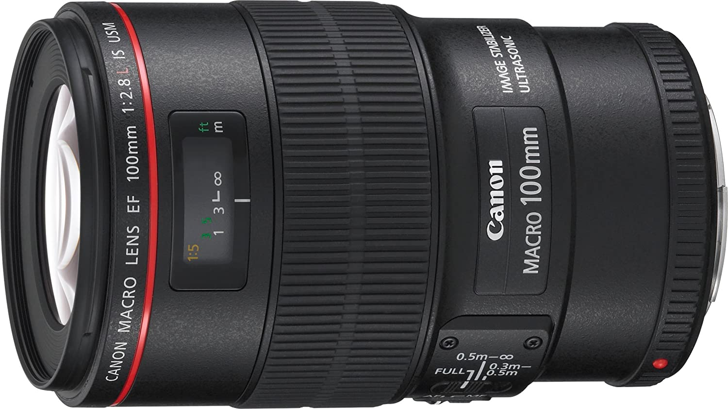 Canon L Macro IS USM Objetivo para Canon distancia focal fija mm