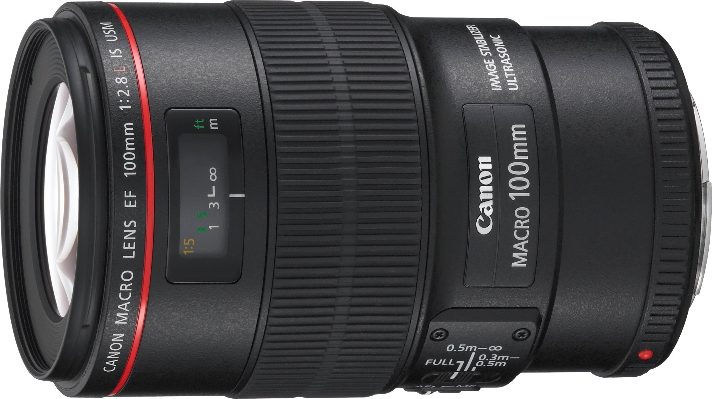 Canon EF 100mm f/2.8L IS USM Macro Lens for Canon Digital SLR Cameras - International Version (No Warranty) by Canon