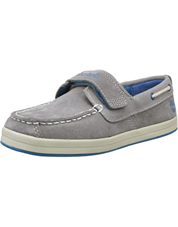 Timberland Dover Bay H&l Boatsteeple Grey with Mykonos Blue, Oxford Unisex Niños
