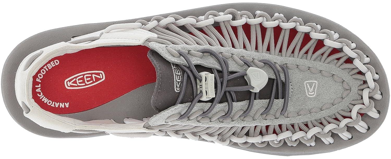 KEEN Men's Uneek Sandal B071X3Y9LW 9 D(M) US Neutral Gray/Eiffel Tower
