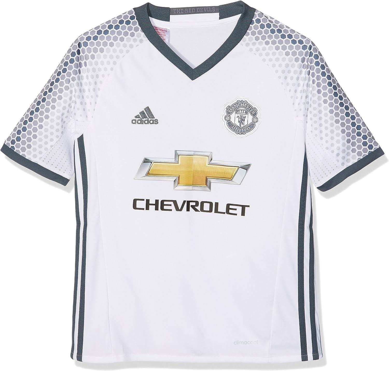 adidas Manchester United 3 JSY Y Camiseta 3ª Equipación Manchester United 2015/16 Niños