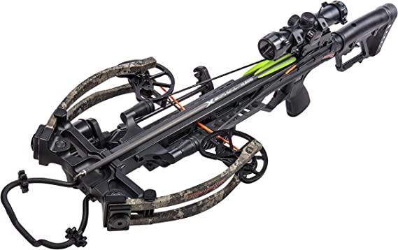 BearX Constrictor CDX Ready to Shoot Crossbow Package with Scope