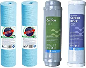 Cartridges - water filter - the first three stages are suitable for all types of water filters - anti-bacterial and intestinal parasites and improve alkalinity of water