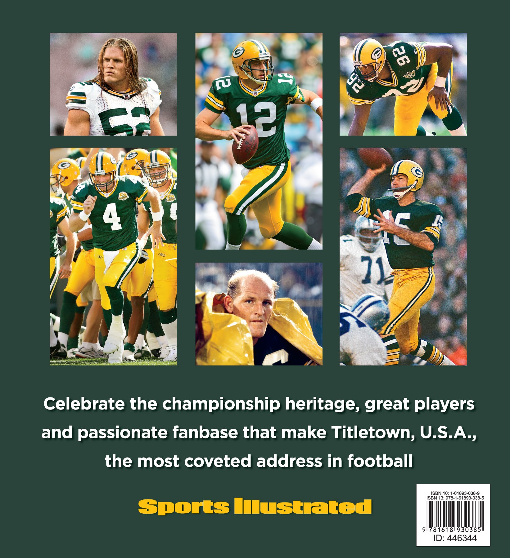 Sports Illustrated PACKERS: Green, Gold and Glory: The Editors of Sports  Illustrated: 9781618930385: Amazon.com: Books