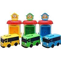 Little Bus Tayo Shooting Car Set(Bus and Garage)