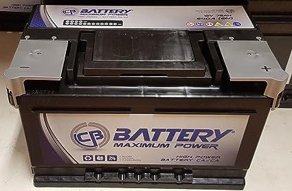 Bateria De Coche De 75 Ah Amperios 640aa Cema Bateria Maximun