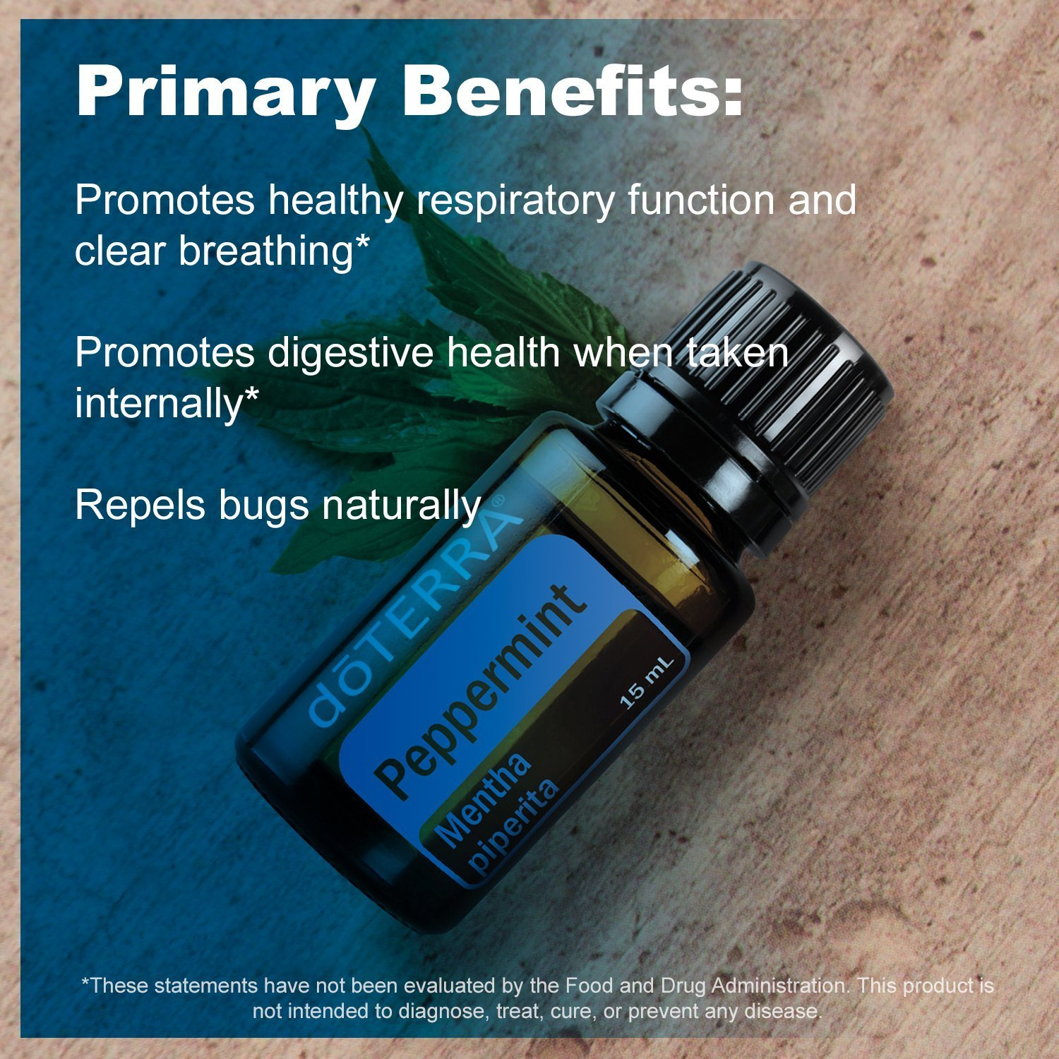 Essential Oils Peppermint 15 ml doTerra