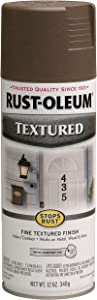 Rust-Oleum 7226830 Textured Spray Paint, 12 oz, Bronze