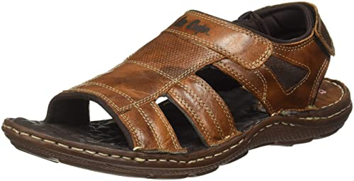 3134ee67be9 Lee Cooper Men s Leather Sandals  Buy Online at Low Prices in India ...