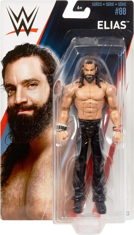 Series 88 WWE Elias Mattel Basics wrestling figure