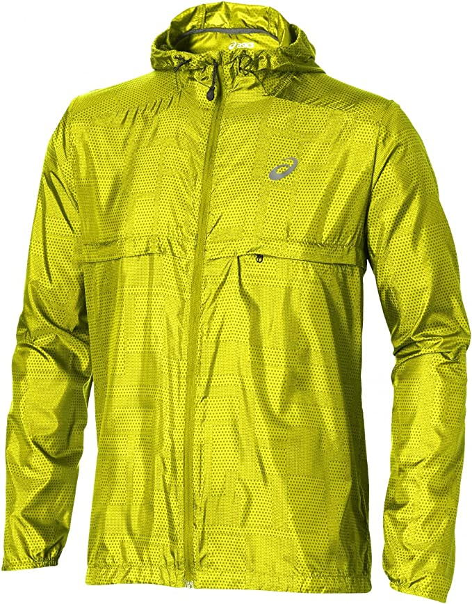 Asics fuzeX Packable Jacket Meiro Sulphur Spring