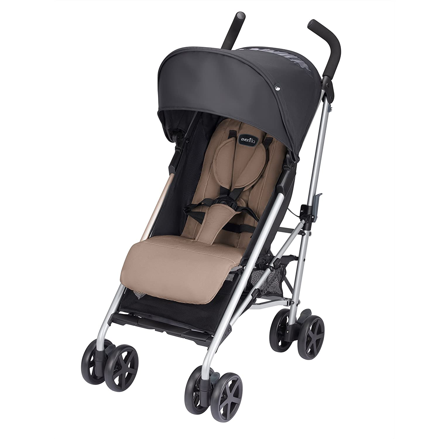 Evenflo Minno Lightweight Stroller, Mochaccino Brown 17922138