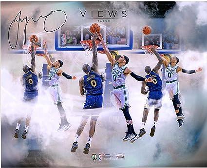 wholesale dealer d827e 7b71a Jayson Tatum Boston Celtics Autographed 16
