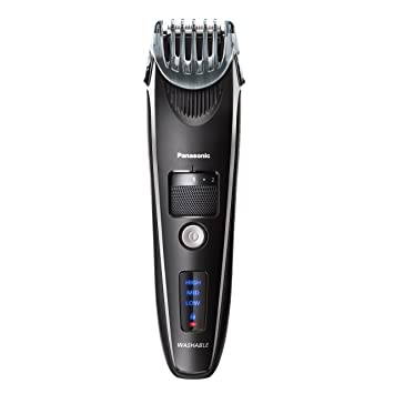 Amazon.com  Panasonic Beard Trimmer for Men ER-SB40-K 56d1bc7c78512