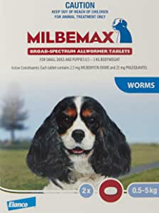 Milbemax All-wormers for Small Dogs Pet Meds