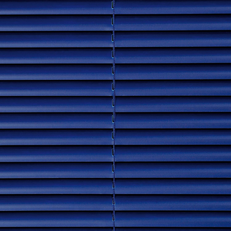 Tenda veneziana di plastica, 160cm lunghezza, tapparelle plastica blu oriente B 60cm Liedeco