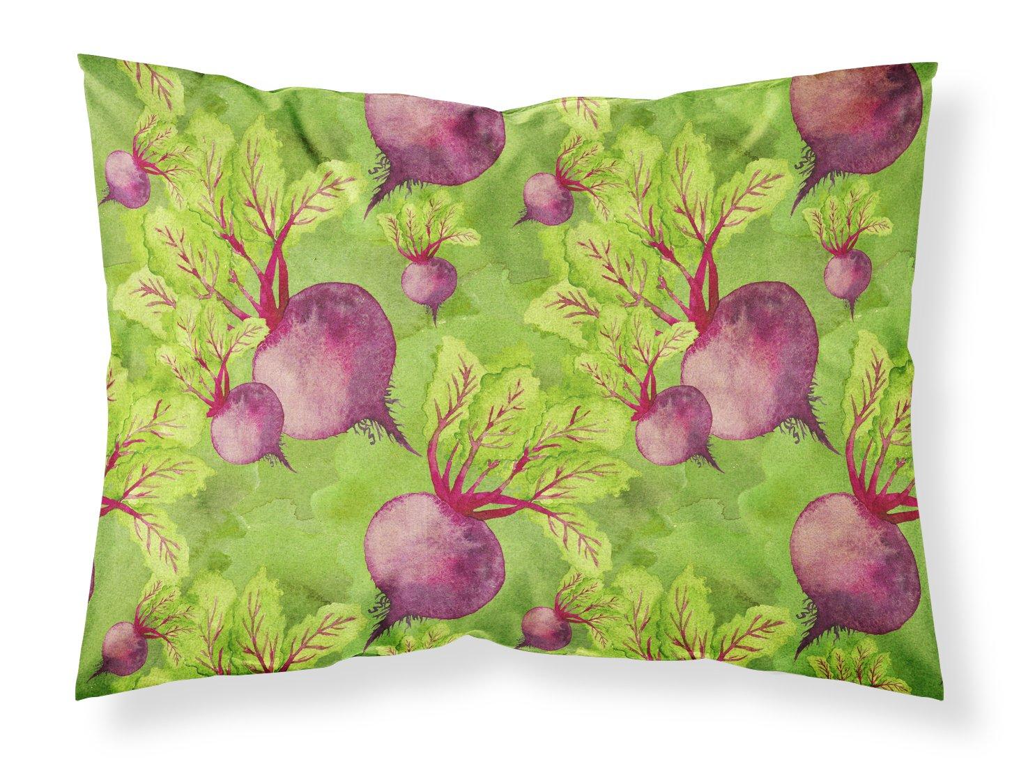 Carolines Treasures Watercolor Raddishes Pillowcase Standard Multicolor