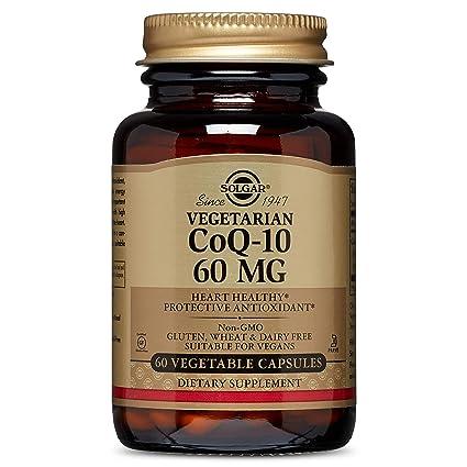 Solgar CoQ-10 (Coenzima Q-10) 60 mg Cápsulas vegetales - Envase de 60