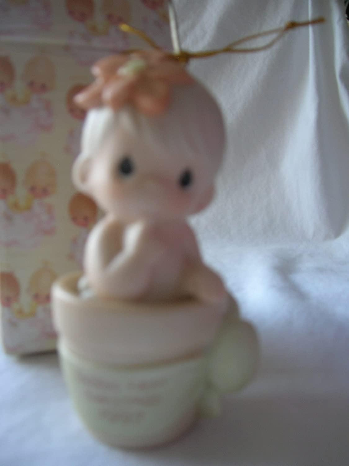 Precious Moments Baby s First Christmas Boy Ornament 97 Retired