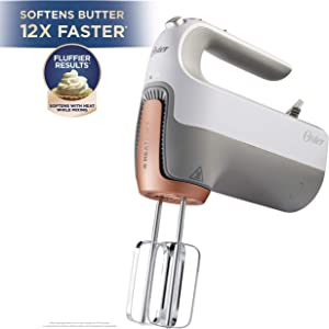 Oster 270-Watt Hand Mixer with HEATSOFT Technology