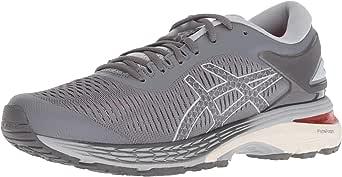 Asics - Gel-Kayano 25 - Zapatillas de running para mujer., Gris (Carbono/Gris medio), 39 EU: Amazon.es: Ropa y accesorios