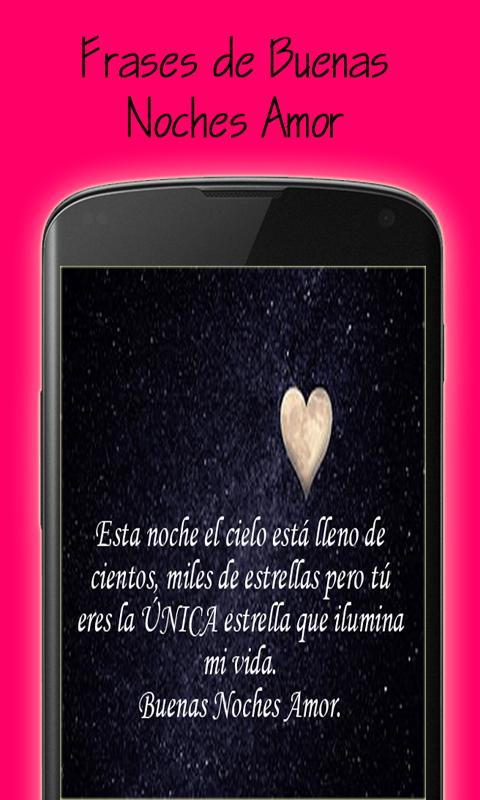 Frases De Buenas Noches Amor Amazon Es Appstore Para Android