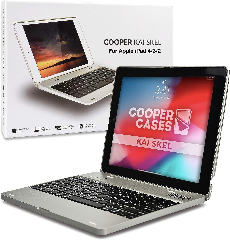 Funda con Teclado para Apple iPad 2/3/4, Cooper Kai SKEL P1 ...