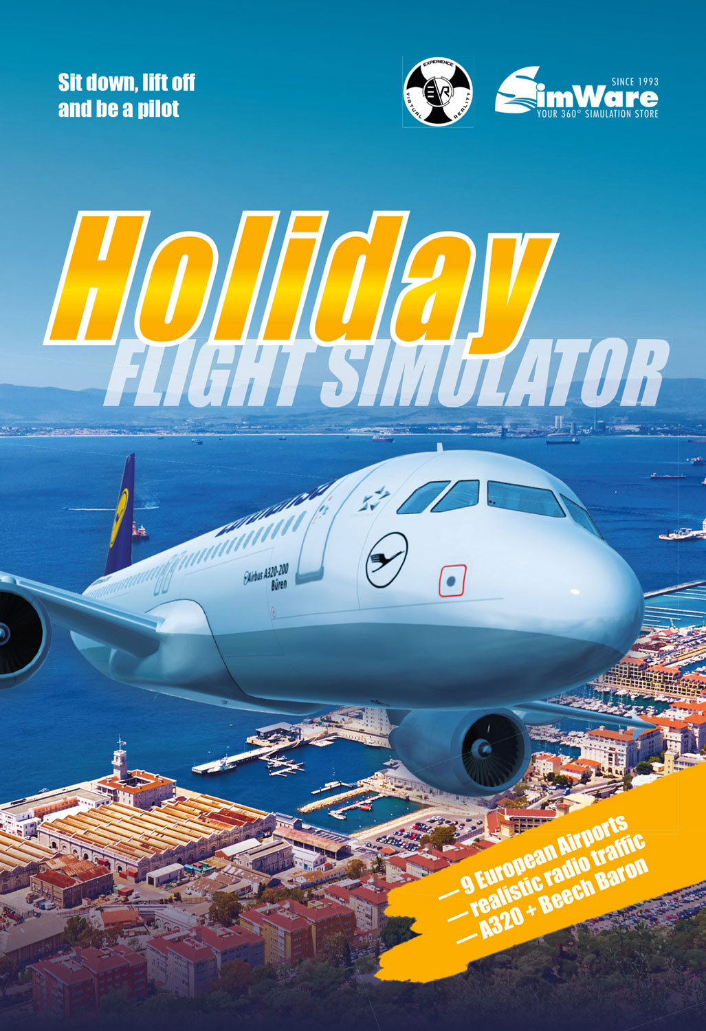 Amazon com: Holiday Flight Simulator [Online Game Code]: Video Games