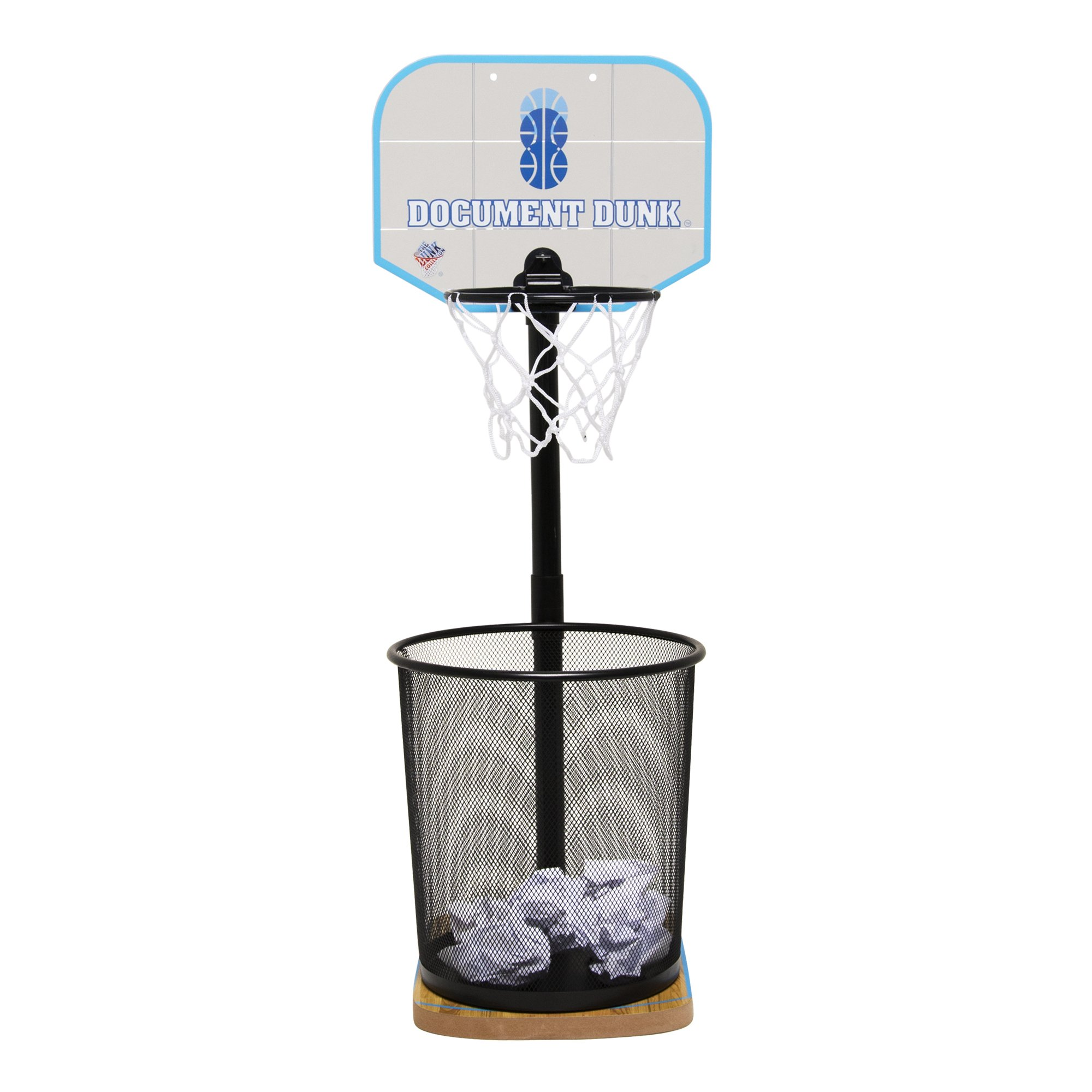 The Dunk Collection Document Dunk -The Trash Can Basketball Hoop for Office All-Stars (00022)
