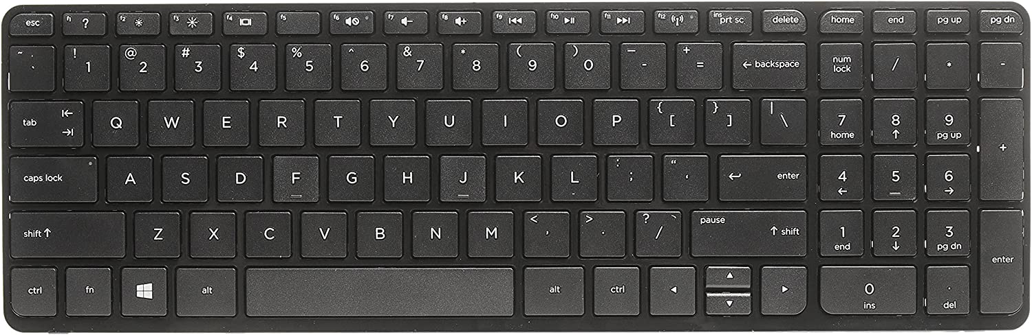 New US Layout Keyboard For HP Pavilion 17-x105ds 17-x106cy 17-x110cy 17-x111cy