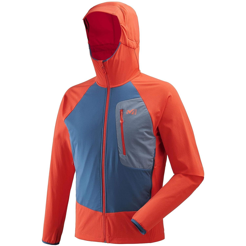 MultiCouleure - Orange (Orange poseidon) XS MILLET - Veste De Ski De Randonnée Toubague Speed XCS sweat à capuche Bleu Homme - Homme - Bleu