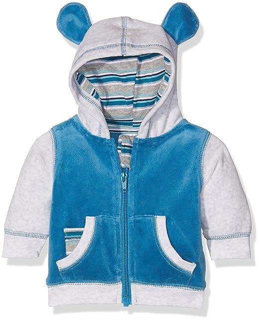 Twins Unisex Baby Half Zip Sweater Teddy Bear