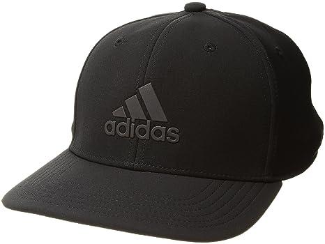 3ee3a1a8 adidas Men's Adizero Reflective Snapback Cap, Black/Multi-Reflective/Onix,  One