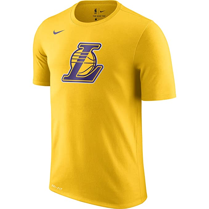 Nike NBA Los Angeles Lakers Lonzo Ball Kyle Kuzma 2017 2018 Dry Logo Official, Camiseta de Hombre: Amazon.es: Ropa y accesorios