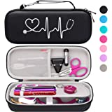Bovke Stethoscope Hard Case for 3M Classic III, Lightweight II S.E, Cardiology IV, MDF Acoustica Deluxe Stethoscopes…