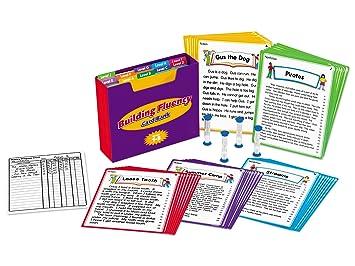 Amazon.com: Lakeshore Building Fluency Card Bank - Gr. 1-3: Toys ...