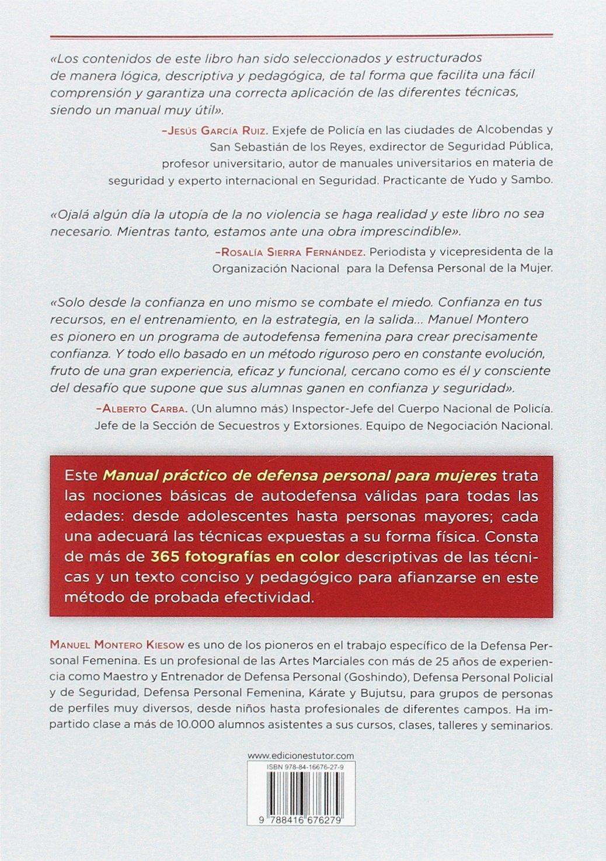 MANUAL PR?CTICO DE DEFENSA PERSONAL PARA MUJERES: 9788416676279:  Amazon.com: Books