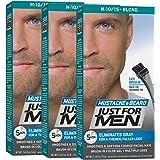 Just for Men Brush-In Color Gel for Mustache Beard & Sideburns Sandy Blond 1 color gel (Pack of 3)